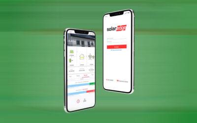 Con l'app MySolarEdge l' impianto lo monitori con un click